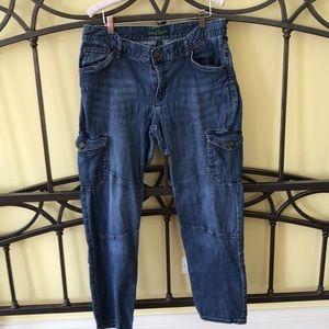 Lauren Jeans Co. Cargo Jeans